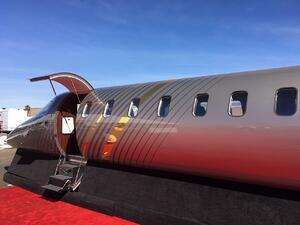 Learjet 75 Liberty Mock-up Close-up