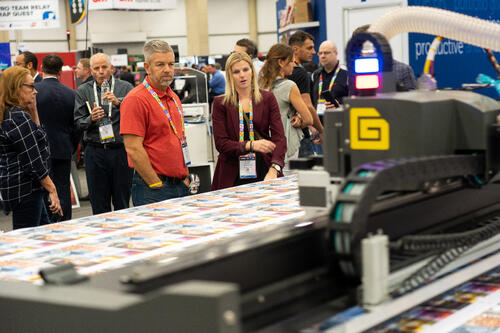PRINTING United 2019 Show Floor Exhibit