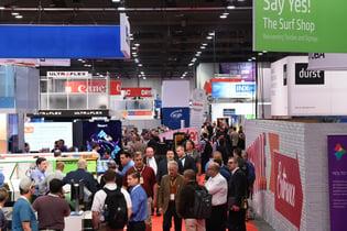 SGIA Expo Show Floor