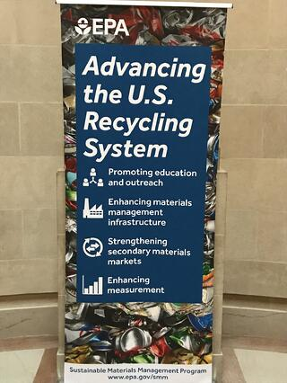 EPA America Recycles Week Event Signage
