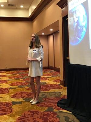 Heather Nortz at TLMI Waste Summit