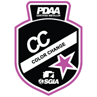 PDAA Color Change Badge