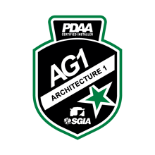 PDAA Architecture 1 Badge