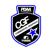PDAA Commercial Graphics Badge